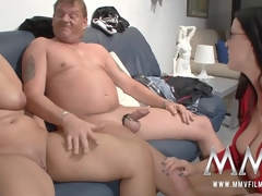 MMV Films sexual congress nanny watches a grey hang on