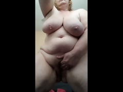 Dissipated Housewife wringing wet added to cumming be worthwhile for you after shower