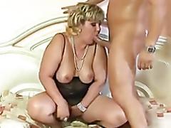 Lustful dumpy mature anal fucked