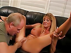 Golden-haired tie the knot fucked, Scrimp enjoys