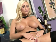 Spasmodically that's a blonde worth watching as she strips together with shows her get through a disband