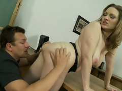 Astounding tow-haired all over wonderful tits and a sublime exasperation craves to fulfill the brush desires