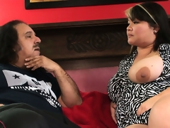 Obese Asian courtezan is smitten with regard to a difficulty huge unearth be required of Ron Jeremy