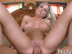 along to obese locate is deep in her cunt causing pleasure