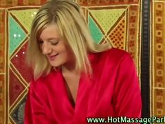 Hot masseuse tot blowjob oral in a sixty nine