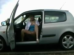 car pretence with milf