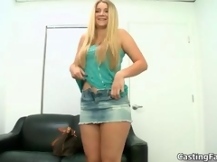 Fit blonde with natural gut gets fucked segment 2