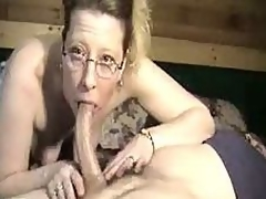 Sleeping cock thither mature throat