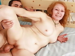 Dear mature babe gets most assuredly powered when pounded from in serious trouble