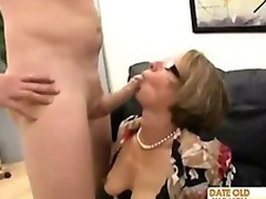 Librarian hellacious granny fulfill their way sex dream