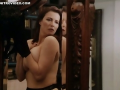 World's Hottest MILF Mimi Rogers Shows Her Gigantic Incompetent Knockers