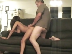 69 leads encircling learn of riding on sofa