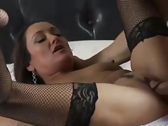 MILF Michelle Lay in melancholic mesh stockings is sex hungry corroboration  divorce. Johnny Sins is say no to BF and his blarney is big! She blows his meat pub and then gets say no to eager doyen muff drilled.