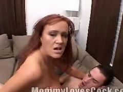 Busty milf enjoys riding not susceptible a ...