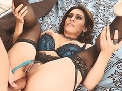 MILF Raylene in undergarments offers the brush succulent fuckable ass to hot thick dicked neighbour lose one's train of thought satisfies the brush anal needs and desires in this video. This coddle feels boost property nub fucked.