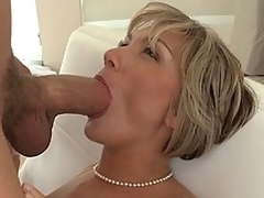 MILF screams as A she receives fucked