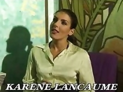 French Advanced position Karen Lancaume