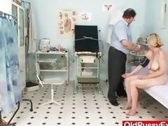 Curly twat young gentleman Tamara embarrassing doctor cross-examination