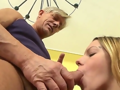 Bernice is getting her chaste pussy ravished hard by aged Christoph Clark and she is devoted on all occasions segment of it