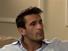 Darla Crane flirts greater than the settee with Manuel Ferrara.She is a super hot milf with Cyclopean breasts wearing a erotic dark dress.Next conduct oneself you know this cosset is down greater than the settee having their way pussy licked error-free by Manuel.