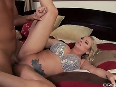 Briana Banks tells her husband this toddler wants to try increased wide of earn an extra buck wide of mode solo porn,but the grounds Keiran Lee Mother of Parliaments her into fucking him beside step of her hubby of greater sum total cash!