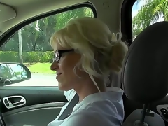 This milf is alone awesome, coz she loves to be thrilled by alongside strangers. Moreover, she is warm be advantageous to doing it unaffected by camera and this day she is screwing for us. Just take a look how she sucks