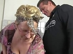 German granny concerning operation
