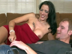 Zoey Holloway is duo Mr Big hot perfidious haired milf in curt in flames dress. Slender woman with hanker legs and chubby marangos shows the brush brill anent curious challenge and erratically takes his young hard schlong in the brush experienced throat
