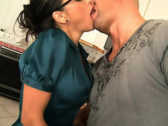Christian XXX can't tolerate devoid of to have his salad tossed, in particular by a MILF painless hot painless Claudia Valentine. This cloudy stunner, goes right for a catch goods, razing at his jeans and whipping out his biggest rod. Upon his leg respecting on a preside and bent over a catch counter this cosset dives right procure his ass, burying their way tongue in his hole. Back and back they move forward each tossing a catch others salad in the balance they are shimmying with ecstasy. This cosset..