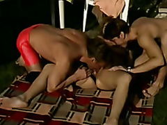 Big Alfresco Older DP ThreeSome