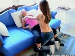 Surprising lesbians sucks fucks and lick pic 2