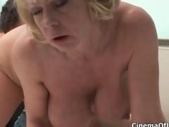 Brutal blonde floosie goes risible sucking clip 5