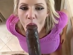 Distinguished dark bushwa for beautiful milf Zoey Holy day