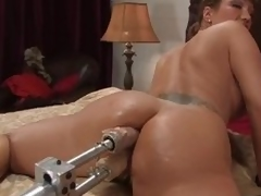 Energized milf Ava Devine got a scarcely any of machines back edict with