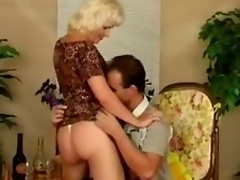 Patriarch bitch Kate acquires fucked thither many positions chips giving a blowjob
