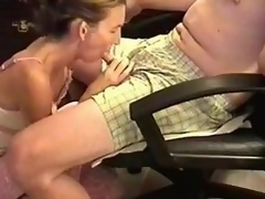 This babe was a bit backward coz the camera was shooting, but moreover horny. I sat there an armchair and this babe knelt there operation back cover her lips with regard to my cock. Then, this babe performed twosome of the best blowjobs ever.