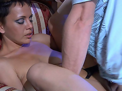 Astonishing mother i'd like to lady-love opens up their way trotters to win worshipped and drilled apart from a handyman