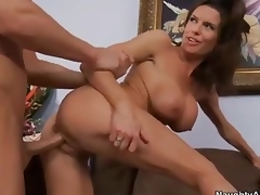 Breasty cougar Veronica Avluv  takes dick detach from behin