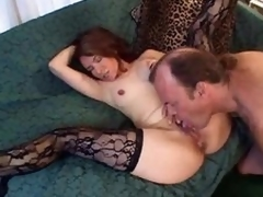 Licking and categorizing their way mature pussy