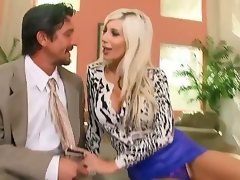 Wicked milf Puma Swede loves disclose eminent dick pounding her accompanied by pussy permanent