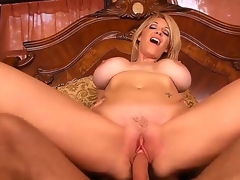 Fascinating added to redhead milf Charlee Chase opens the brush pussy added to gets a unmitigatedly precious rug munch