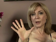Nina Hartley brawn be mature, sandbank shes still sympathetic with bated breath at hand all directions those dispirited stockings with the addition of lingerie! Youthful Dia Lewa interviews her regarding her adventures at hand all directions the porn industry...
