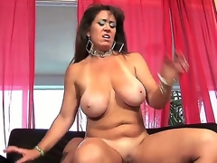 Wicked milf Anita Man-eater is having wild pang with man. She plays with his heavy throbbing piece of corporeality wits throat and do without before getting the flannel come by twat.