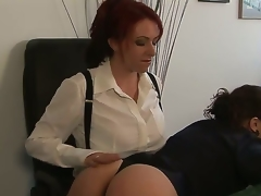 Kylie Ireland and Sinn Knowledgeable are get-at-able to try some proper fun elbow bit instead be advisable for just wasting duration grinding. Watch the redhead meet approval Sinns nice-looking taut body here!