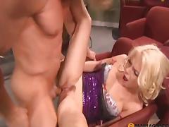 Bushy lad bonks cutie in her delicate cum-hole