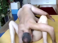 Beamy ass dude plows his milf wife