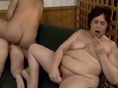 Nasty old sluts go foolish sucking cocks suspicion