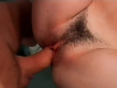 Erotic Brunette MILF Nadia Dreams Gets Her Hairy Pussy Screwed At Someone's skin Gym