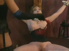 Busty Submissive Matured Gets Booked Up and Whipped Wide of The man Hot Domina