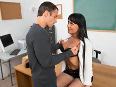 Hot Academe Seduce Her Former Student